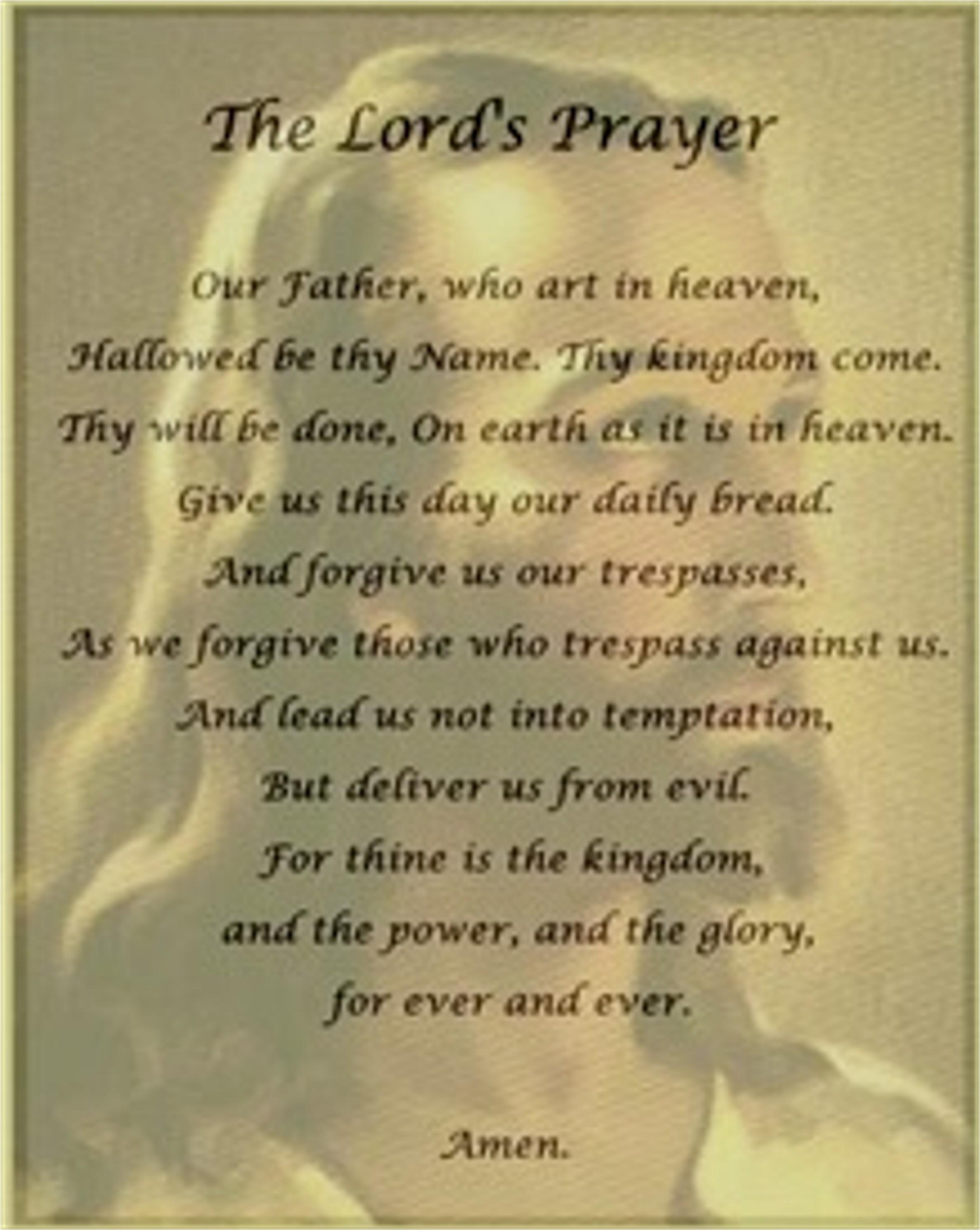 The national prayer