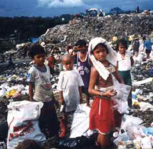 Garbage Mountain - Philippines