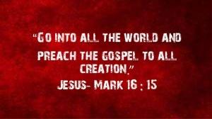 preach unto the nations